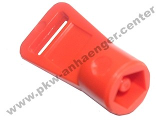 Schlüssel rot für Hapert Kipper (alte Ausführung)