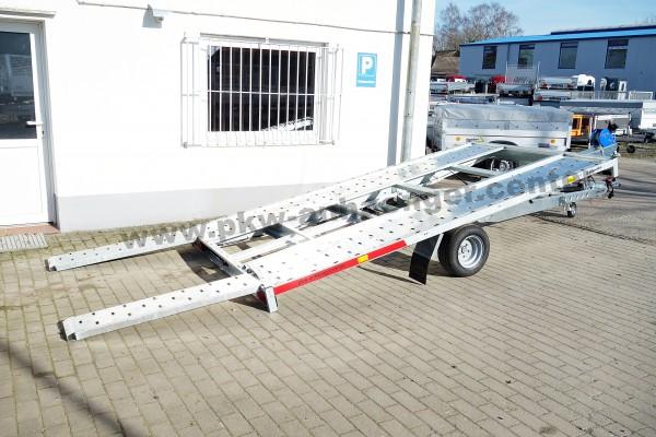 Einachs Autotrailer für Kleinfahrzeuge 1500kg 368x204cm Temared CarKeeper