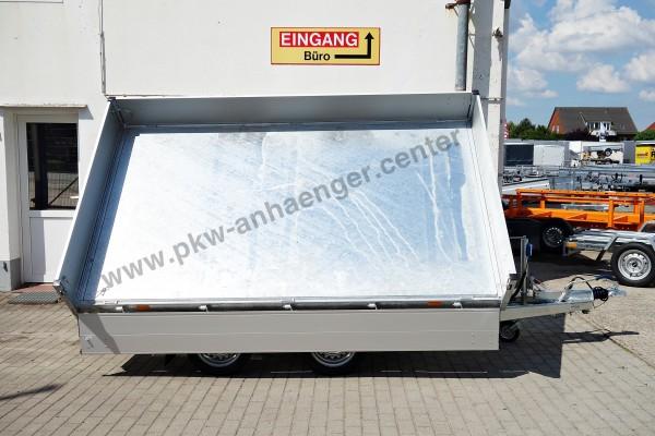 Pkwanhänger Dreiseiten Kipper 2700kg 335x180x30 Cobalt HM2