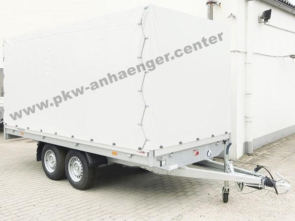 Planenanhänger Hochlader Hapert Azure H2 2000kg 405x180x180cm