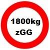 1800kg Gesamtgewicht statt 1500kg