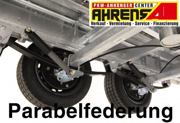 Parabelfederung für Hapert 3500kg Anhänger inkl. 100km/h