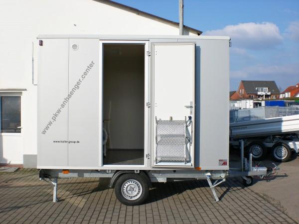 Bauwagen mit Toilette Manschaftswagen für 4 Personen