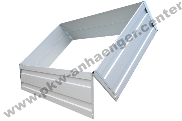 Alubordwandaufsatz 70cm für Anssems KSX 305x178cm
