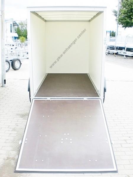 Kofferanhänger Unsinn WEB42 Auffahrklappe