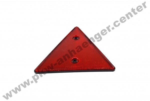 Dreiecksrückstrahler rot