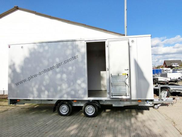 Mannschaftswagen für 12 Personen mit WC Raum als Bauwagen