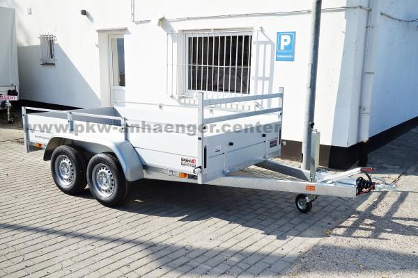 Anssems BSX 2500 301x150 Tandem Anhänger stabil
