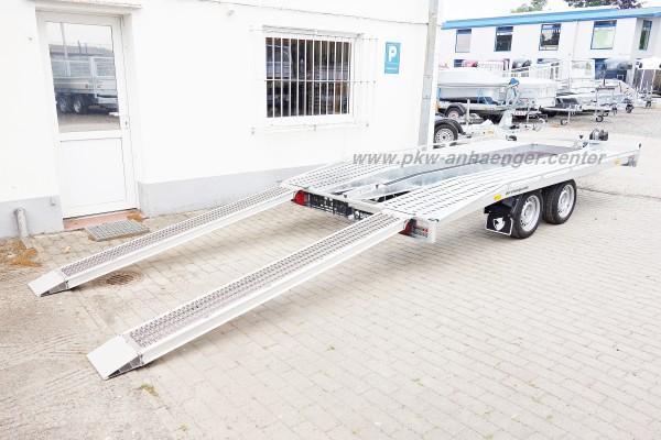 Autotransporter Hapert Indigo HF 2 Auto 2700kg 405x200cm