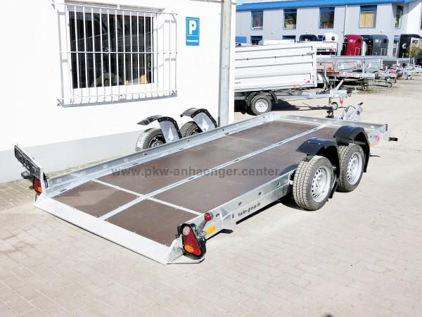 Tandem Absenkanhänger CAR Vezeko Husyke 2700kg