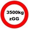3500kg Gesamtgewicht statt 2700kg
