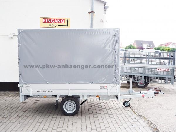 Anssems PSX-S 1350 251x153x160cm Planenanhänger Hochlader