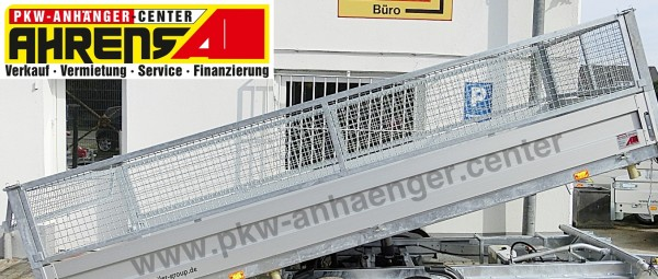Gitteraufsatz für Agados Multikipper und ADAM 515x209cm