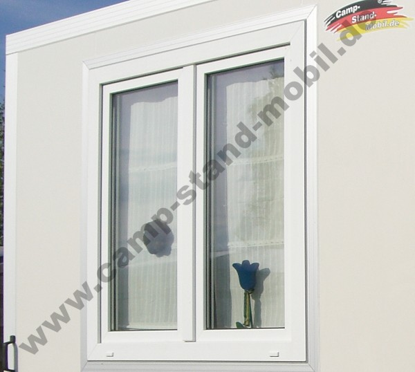 Fenster 120x120cm zweiflügelig für CampStandMobil