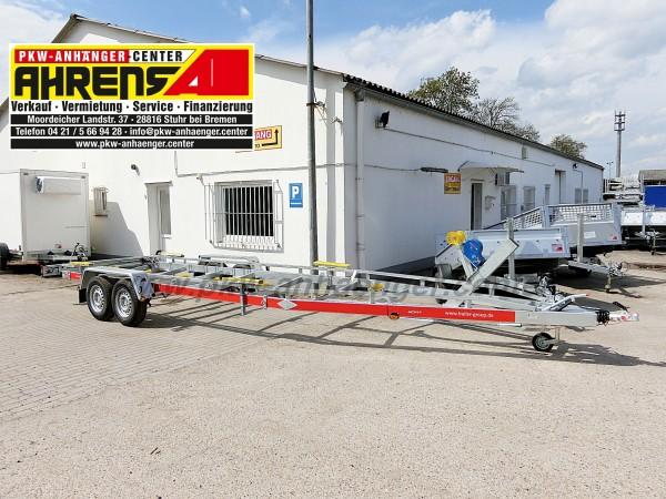 Bootsanhänger TEMARED 3500kg für Boote bis ca. 9,5m