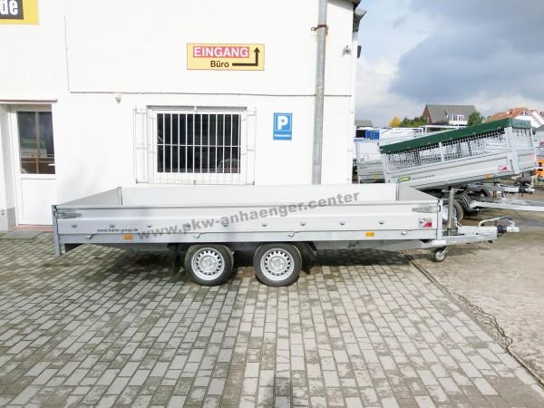 """GEBRAUCHT Hochlader HAPERT 2000kg 405x200cm AZURE H2 niedrig 13"""""""