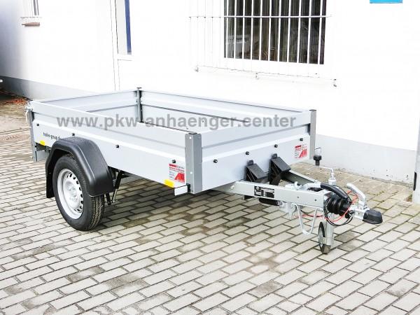 Pkw Anhänger STEMA BASIC 750kg gebremst 201x108x33cm 100km/h