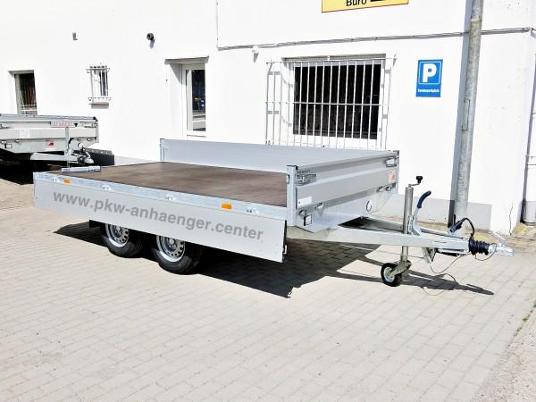 Hapert Azure H2 Hochlader 2000kg 335x180x30cm niedriges Fahrwerk 13 Zoll