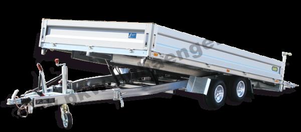 UNSINN PKL3548-13-2440 3,5t 486x244x35cm ankippbarer Hochlader