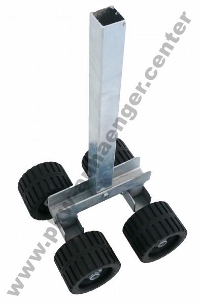 4 Fach Sliprolle für Bootstrailer