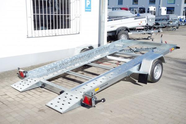 Kleinfahrzeugtransporter Temared Carflat 3518U 1500kg 350x185cm