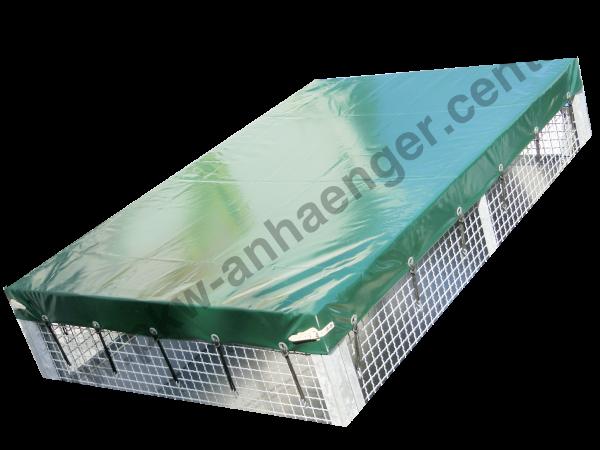 Flachplane für UNSINN WEB20 WEB30 230x150cm Gitteraufsatz