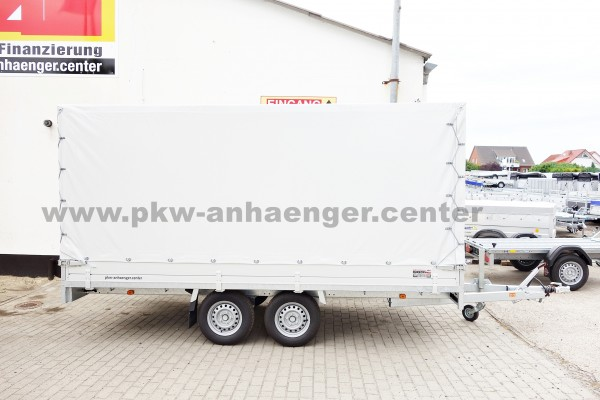 Anssems PSX-S 2000 405x178x180cm Hochlader Planenanhänger