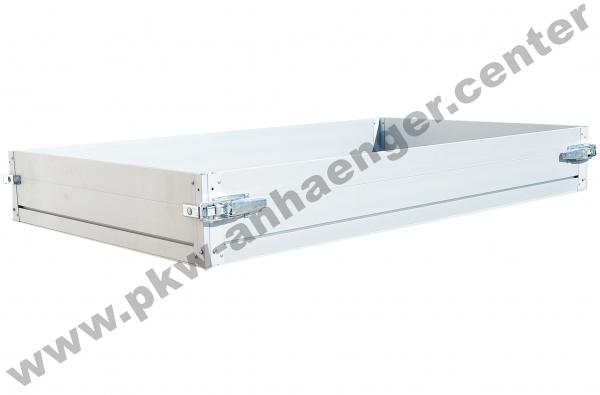 Alubordwandaufsatz 30cm für Anssems PLT oder KLT in 305x150cm