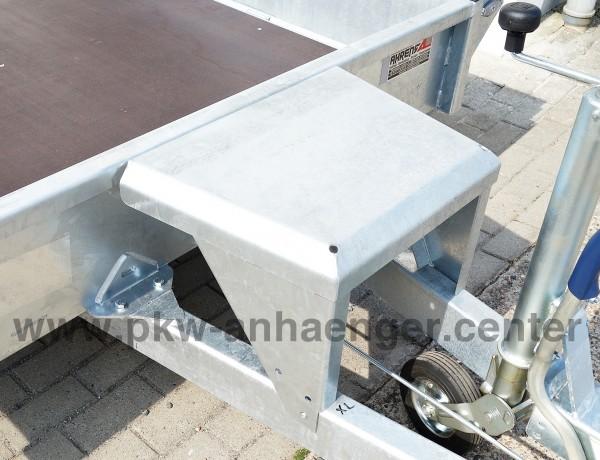 Schaufelablage für Hapert Indigo Baumaschinentransporter