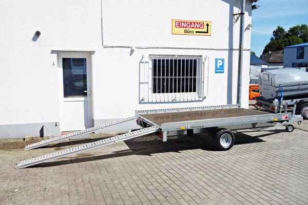 Kleinfahrzeugtransporter Smart von Stema Carrier XL 1500kg