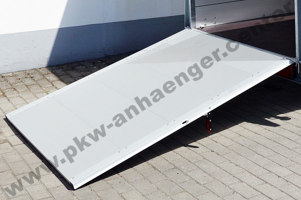 Auffahrklappe 100cm für Anssems GT 126cm Breite